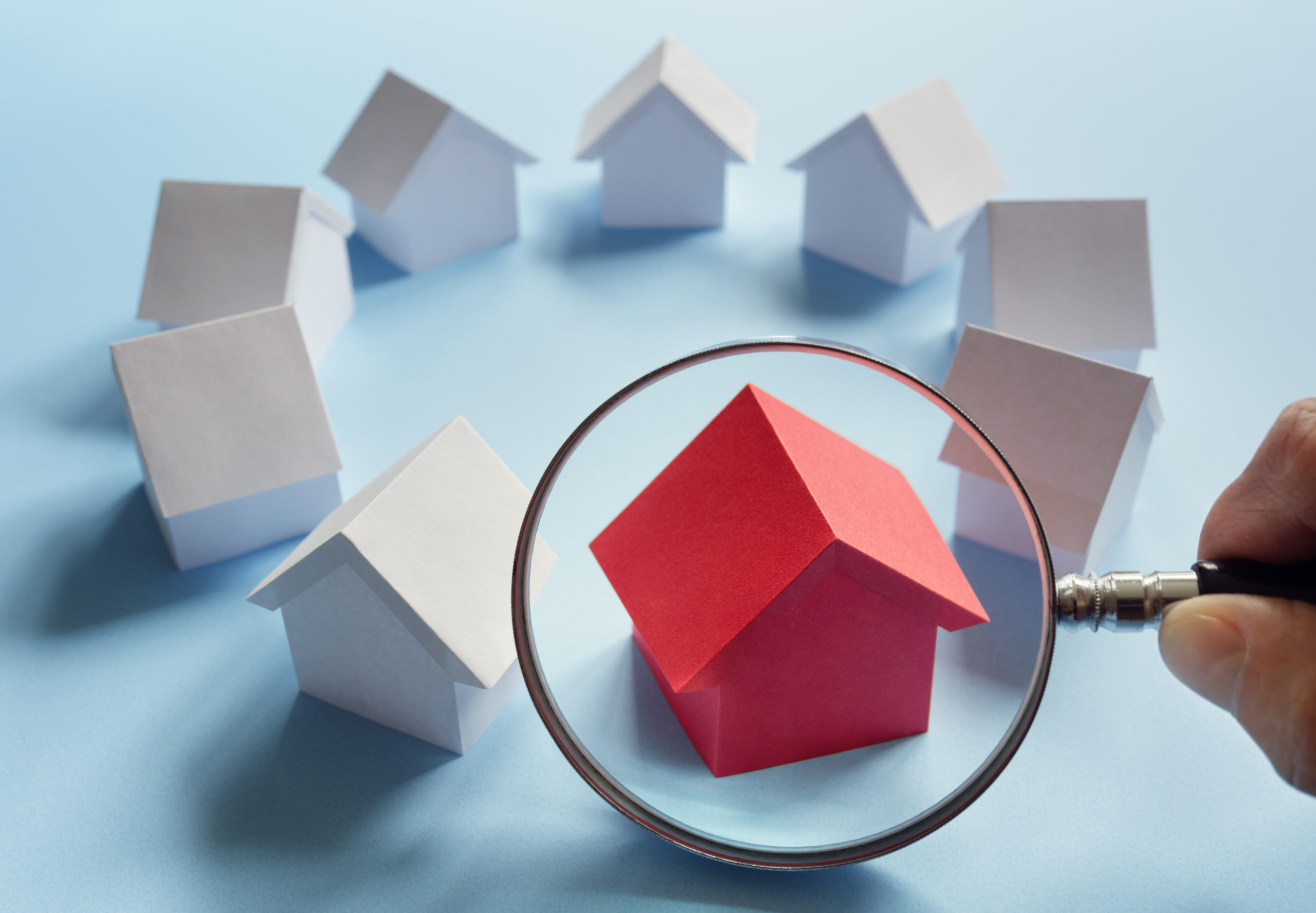 searching for real estate house or new home P5YBRG6 scaled